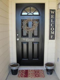 Front door inspiration!