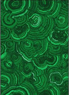 New emerald green wallpaper from Robert Crowder called the Malachite, and has a paperback Vinyl
