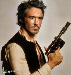 Robert Downey Jr. as Han Solo