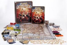 I saw this game on Wil Wheaton's Tabletop. What's fascinating about this game is that you don't play a character. You manage the characters! I would love to play it!