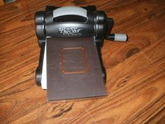 Big Shot with Magnetic Pad for thin metal dies..sizzix machine is a must...either this one, or the big kick...
