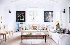 Shop the Room: Fun With Florals via @domainehome