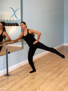 Say bye-bye to saddlebags with this barre #workout. http://www.ivillage.com/jessica-smith-xtend-barre-workout/4-a-524886#