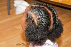 Dual Dutch Braids and Cornrows | Chocolate Hair / Vanilla Care: Style Gallery