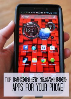 Top Money Saving Apps for your phone! #apps #save #money #phone