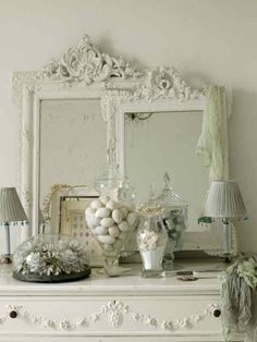 Beautiful romantic mirrors