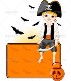 Little Halloween Pirate