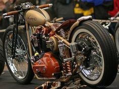 Bobber Inspiration | Ironhead custom bobber | Bobbers and Custom Motorcycles