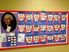 "These student ""George Washington Projects"" are adorable!"