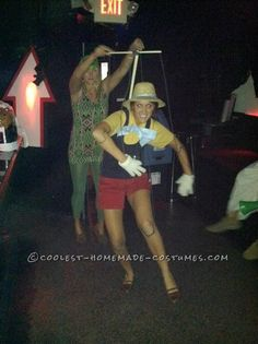 Coolest Homemade Pinocchio Costume for a Female... This website is the Pinterest of costumes