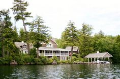 truly special setting for creating beautiful Lake Winnipesaukee memories with family and friends! This exquisite Stone and Shingle lakefront residence boasts gorgeous, panoramic lake and mountain vistas.  280 Woodlands Road, Alton, NH - Offered by Steven Gray - http://www.raveis.com/mls/4236540/280woodlandsroad_alton_nh