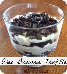 Oreo Brownie Trifle on Pinterest