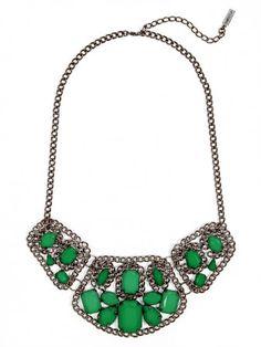 emerald hued gems