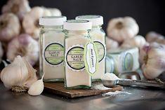 Homemade Garlic Salt from My Own Ideas blog #garden #diy