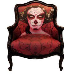 Limited Edition Throne   .. I WANT THIS CHAIR!! Love Love LOVE Sylvia Ji!