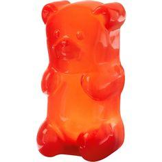Red Gummy Bear Lamp $29.95. For kids