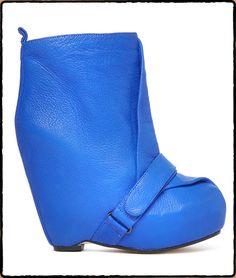 SENSO Blue Leather Neve £160 at Amelie Boutique