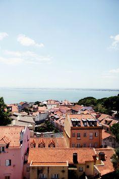 Rooftops, Lisbon, Portugal