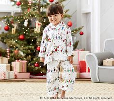 Dr. Seuss's The Grinch™ Flannel Pajama | Pottery Barn Kids