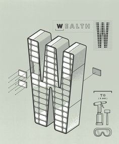 W! || #type #typography #design