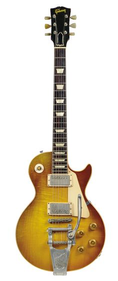 1960 Gibson Les Paul - from Richard Gere's guitar collection. Was auctioned off for $98,500.