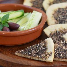 Manakish Zaatar flatbread