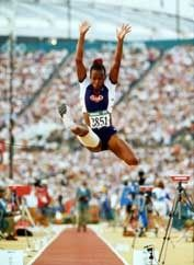Jackie Joyner-Kersee is one of the best female athletes in the world, winning six gold medals and overcoming asthma to follow her passion. Her story is inspirational:  https://www.usatf.org/HallOfFame/TF/showBio.asp?HOFIDs=201