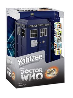 Doctor Who Yahtzee!