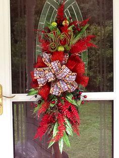 Christmas Centerpiece christmas wreath christmas by WreathsEtc