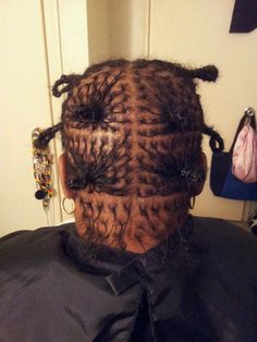 Client BD: her sisterlocks journey begins!