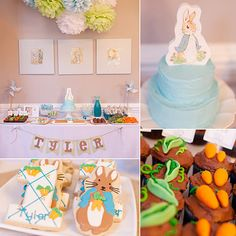 Peter Rabbit Birthday Party