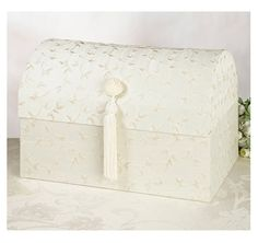 wedding cards, idea, gift, treasur, chest card, ivory, card holder, box ivori, wedding card boxes