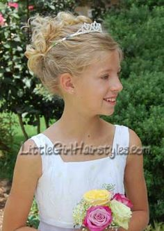 Kids Wedding Hairstyles For Girls