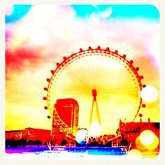 big wheel, color matiz, ferri wheel