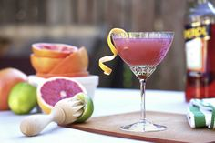 Winter Grapefruit Cocktail