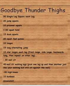 amazing way to get rid of my thigh fat! love it!