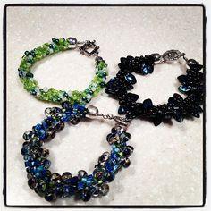 kumihimo bracelet, beaded bracelets
