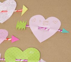 Learn how to make these simple yet sweet valentines using construction paper and Pixy Stix. Best of all, it's easy enough for kids to do, too. craft holiday, valentine day, pixi stix, holidays, kids, homemade valentines, sweet messages, kid craft, homemad valentin