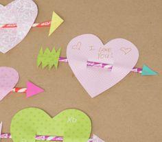 craft holiday, valentine day, pixi stix, holidays, kids, homemade valentines, sweet messages, kid craft, homemad valentin