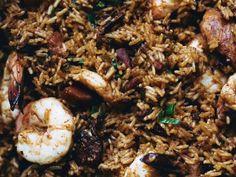 John Besh's Pork and Sausage Jambalaya