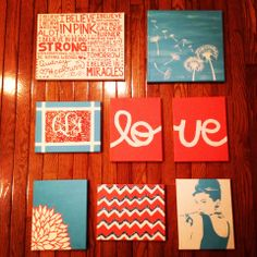 dorm canvases