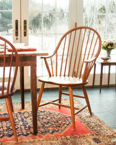 Grand Windsor Dining Chair, Elegant Dining Room Furniture.