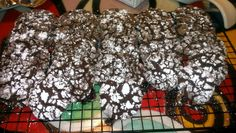 """Cracked Chocolate Cookies! """"yummy goodness.""""  @allthecooks #recipe #cookies #dessert #easy #chocolate #christmas"""