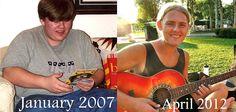 Chris Randall's 130 lb weight loss journey