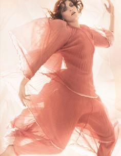 Florence Welch British Vogue January 2012 | Mario Testino