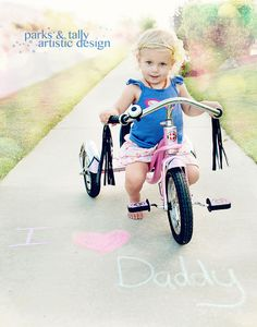 I love Daddy! - great for father's day or birthday!
