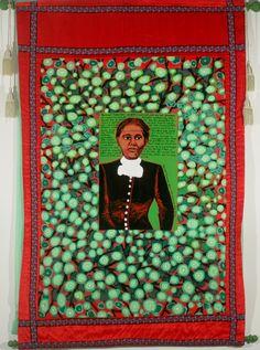 Faith Ringgold, Coming to Jones Road Tanka #1 Harriet Tubman, 2010