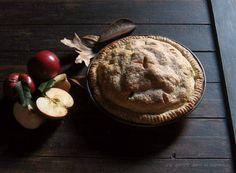 Apple-Toffee Pie