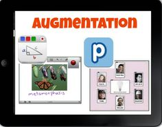 8 iPad Camera Integration Ideas for the 1:1 Classroom, build into the SAMR Model: http://gettingsmart.com/2013/11/8-ipad-camera-integration-ideas-11-classrooms/