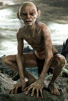 Gollum, The Lord of the Rings. http://filmtrailers.net